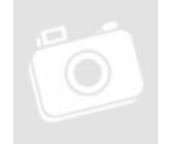 Foci mintás gumilabda - fehér, 22 cm